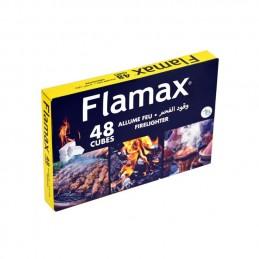 FLAMAX Allume Feu 48 Cubes