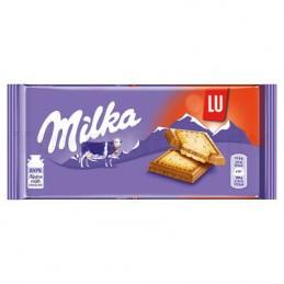 MILKA Tab.Chocolat LU 100gr