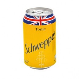 Canette SCHWEPPES Tonic 330ml