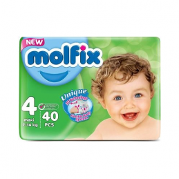 Couches Bébé MOLFIX Maxi...