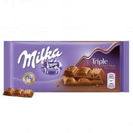 MILKA Tab.Chocolat triple...