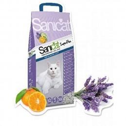 Litière pour chat parfumée...