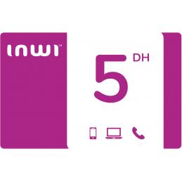 Recharge INWI 5 Dirhams