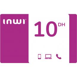 Recharge INWI 10 Dirhams