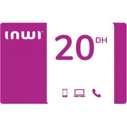 Recharge INWI 20 Dirhams