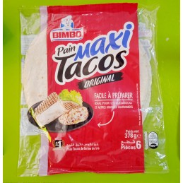 Pain Tacos Maxi de Farine...